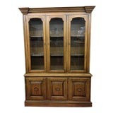 Image of 1960s Vintage Drexel China Cabinet For Sale