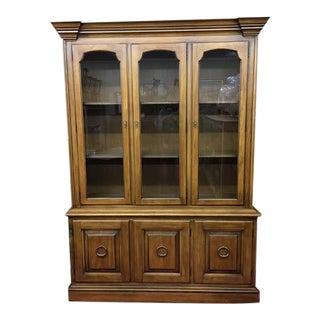1960s Vintage Drexel China Cabinet For Sale