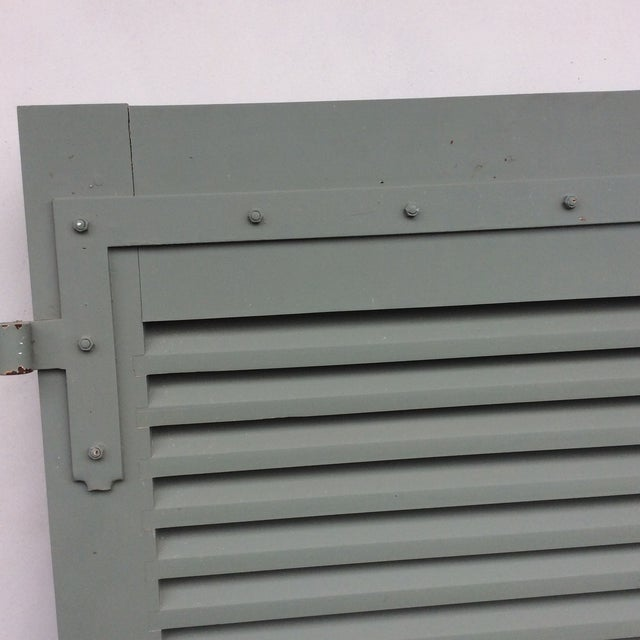 French Shutters- a Pair For Sale - Image 9 of 11