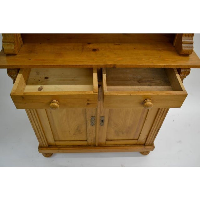Late 19th Century Pine Glazed Buffet For Sale - Image 5 of 10