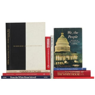 White House & Capital City Library - Set of 10 For Sale