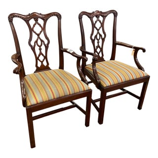 20th Century Henkel Harris Armchairs - a Pair For Sale