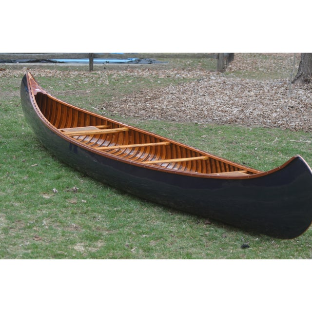 Fully Restored Antique Canoe - Image 2 of 7