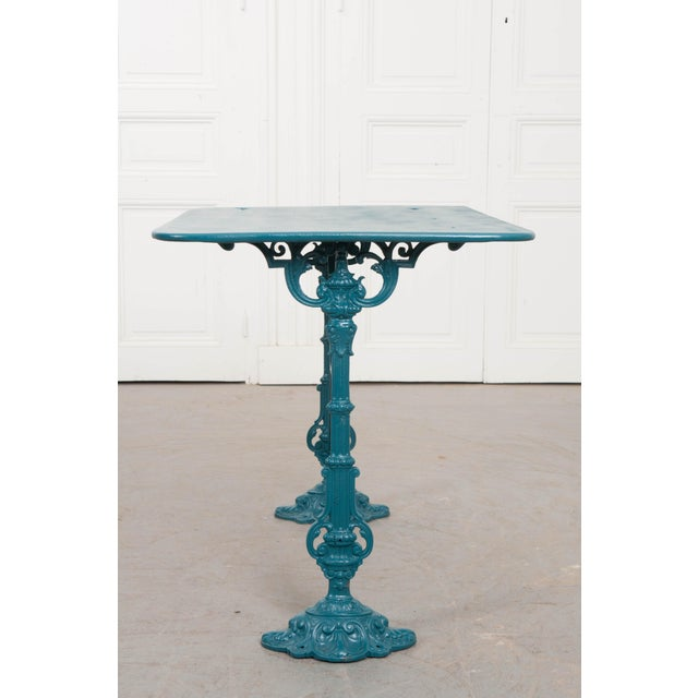 Early 20th Century Vintage 20th Century French Iron Bistro Table For Sale - Image 5 of 8