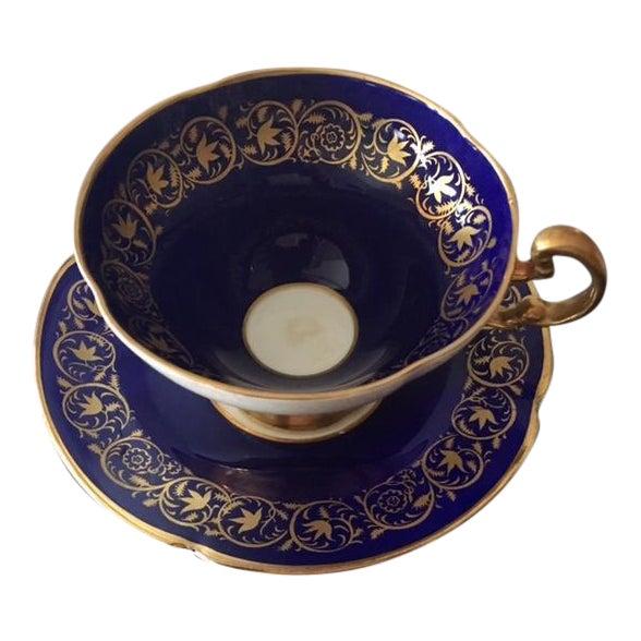 Vintage Royal Bone China Tea Cup and Saucer - Image 1 of 6
