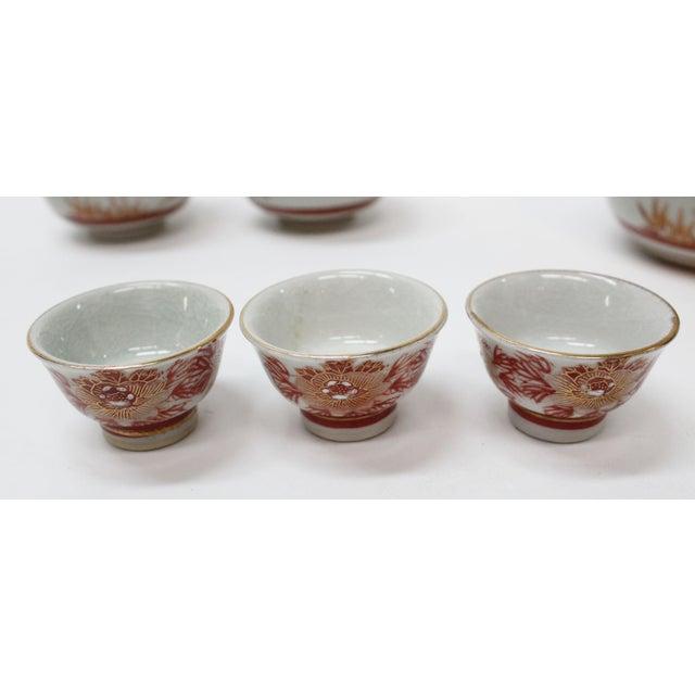 Vintage Asian Tea Serveware - Set of 6 - Image 5 of 7