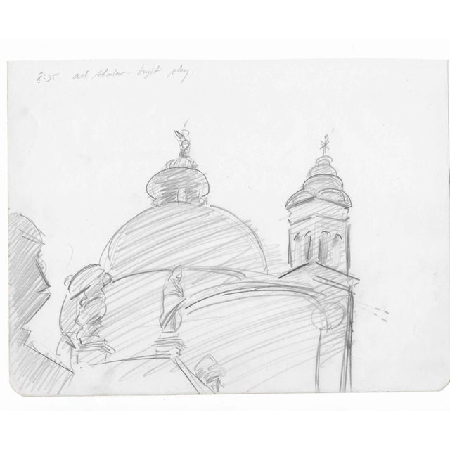 From a sketchbook from a 1957 Italian (mostly Venetian) trip by Charles Merrill Mount (1928-1995). Mount worked in New...