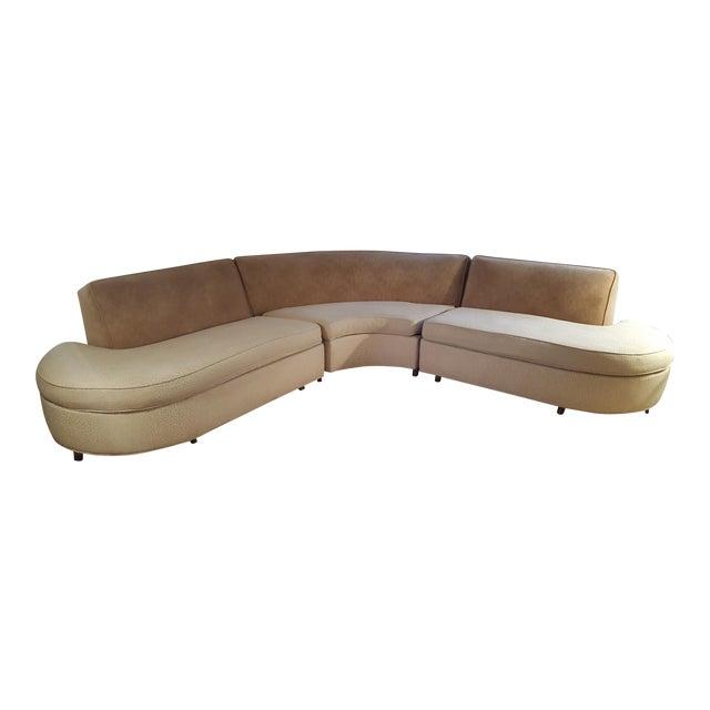 Elegant Mid Century Sofa - Image 1 of 7