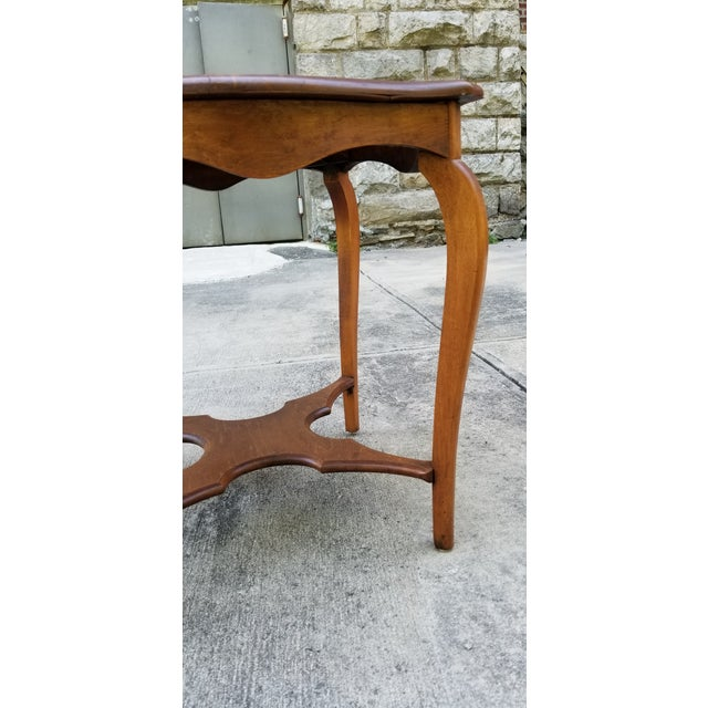 Antique Serpentine Side Table For Sale - Image 11 of 12