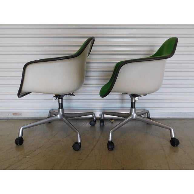 1979 Herman Miller Green Office Chairs - Pair - Image 5 of 11