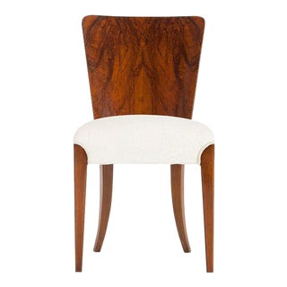 Art Deco dining chair by Jindrich Halabala for Thonet For Sale