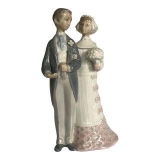 "Lladro ""Wedding"" Figurine/Cake Topper For Sale"