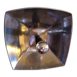 1970's Aluminum Wall Flush Mount/Sconce For Sale