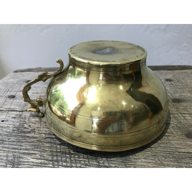 Turkish Hammam Brass Cup For Sale - Image 6 of 8