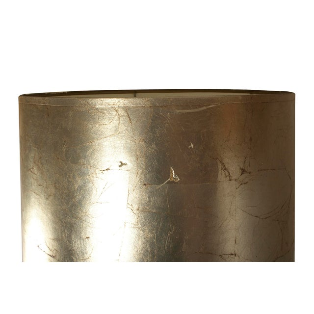 Silver Hollywood Regency Table Lamp For Sale - Image 8 of 8