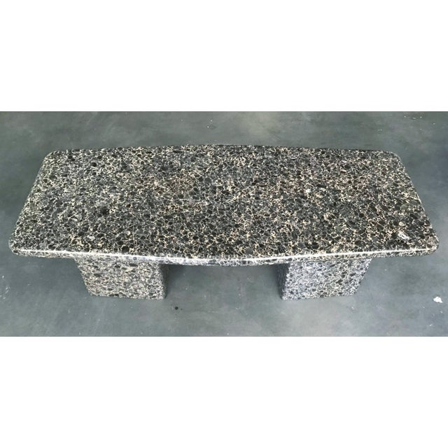 Mid-Century Modern Mid-Century Granite Coffee Table For Sale - Image 3 of 11