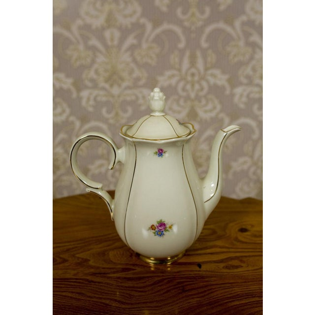 1918-1948 Karlskrona Porcelain Coffee Service for 6 - Set of 15 For Sale - Image 10 of 13