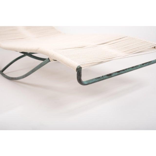 Bronze Pair of Waikiki Rocking Lounge Chairs by Walter Lamb for Brown Jordan For Sale - Image 7 of 8