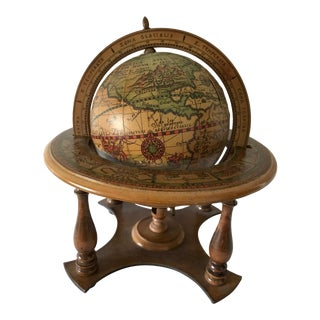 Old World Globe & Stand