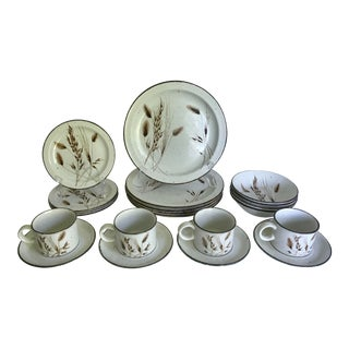 1960's Midwinter Stonehenge English Pottery Service for 4 - 20 Pieces For Sale