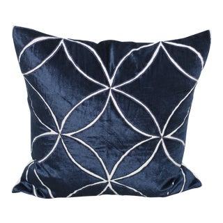 Intersection Velvet Pillow
