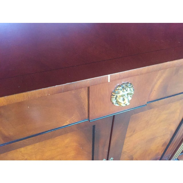 Flame Mahogany Side Cabinet - Image 10 of 10