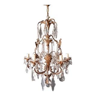 Crystal Chandelier Antique Ceiling Lamp Lustre Pendant Lighting For Sale