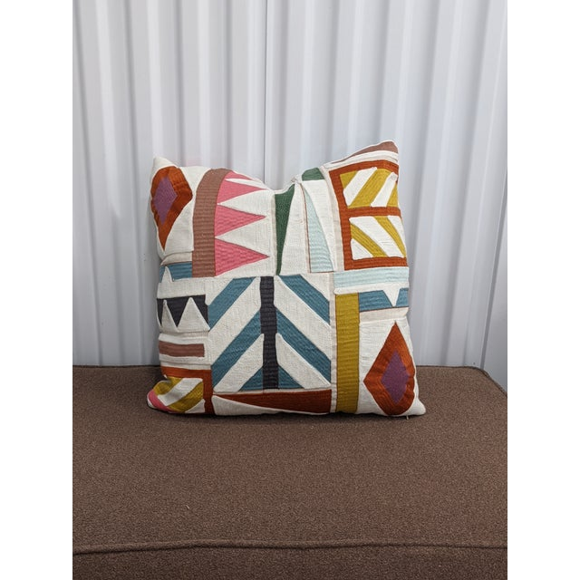 Pierre Frey Decorative Pillows - a Pair For Sale - Image 4 of 5
