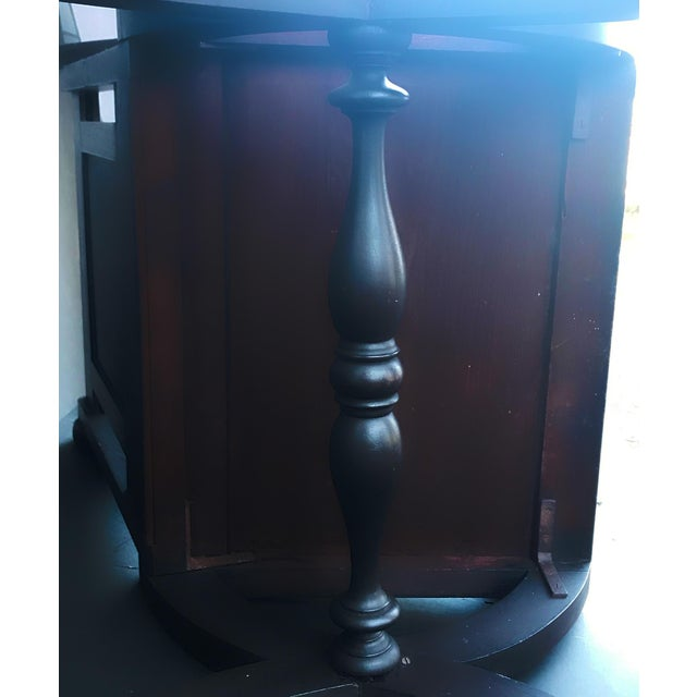 Antique Tudor Revival English Manor House Carved Hall Chair For Sale - Image 10 of 13