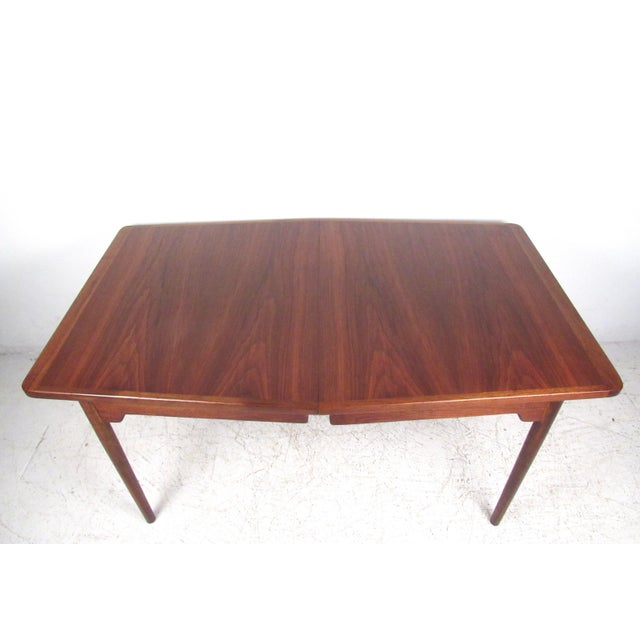 Jens Risom Danish Modern Dining Table - Image 5 of 10