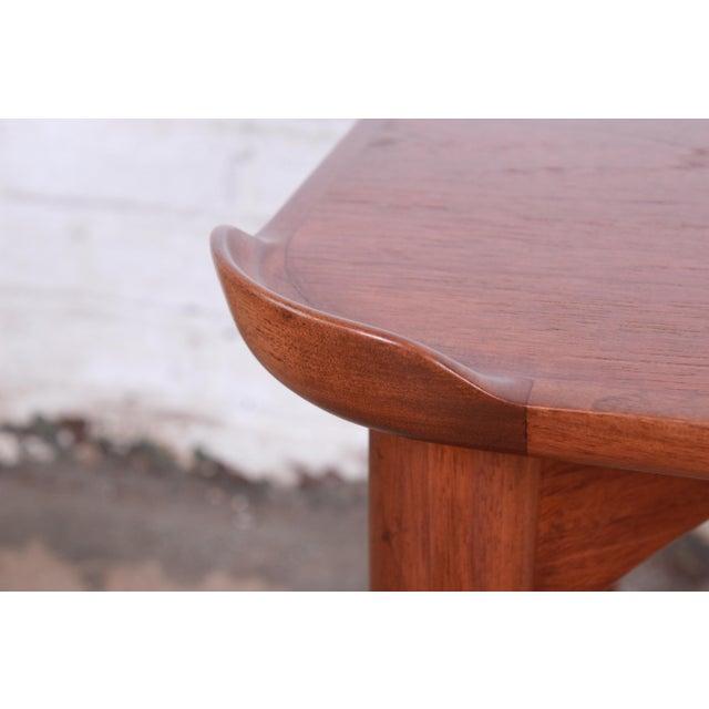 Brown Finn Juhl for Baker Furniture Teak Game Table For Sale - Image 8 of 9