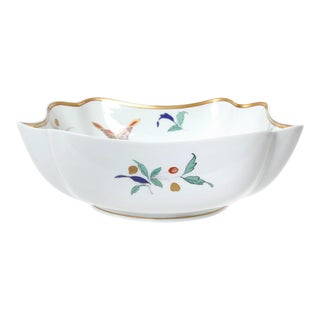 Mottahedeh Chinoiserie Pattern Porcelain Vegetable Bowl For Sale