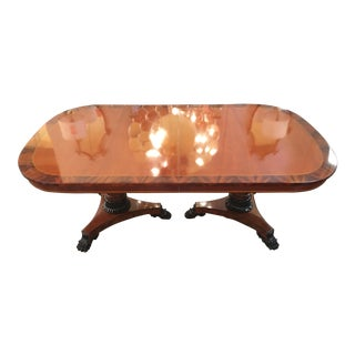 1990s Neoclassical Kindel Dining Table For Sale