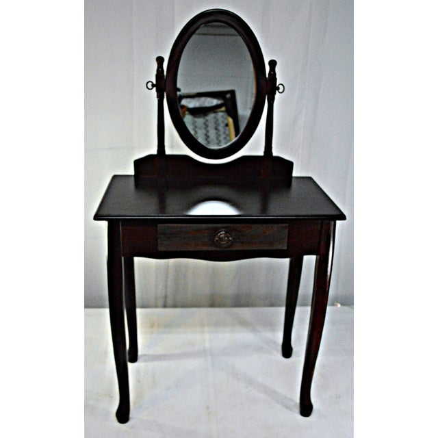 Cuban Mahogany Vanity For Sale - Image 9 of 10