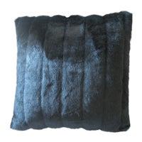 Faux Mink Decorative Pillow For Sale