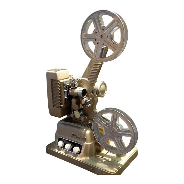 Vintage 16mm Movie Projector Circa 1954 in an Impressive Large Size, by Revere Camera Company For Sale