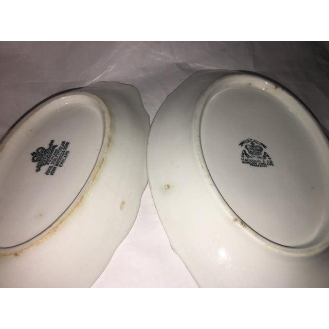 John Maddock & Sons Semi Royal Porcelain Dishes - A Pair - Image 8 of 11