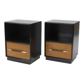 Tulip Collection Nightstands by T.h. Robsjohn-Gibbings for Widdicomb For Sale