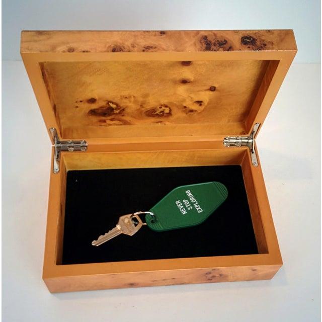 Burl Wood Box - Image 8 of 10
