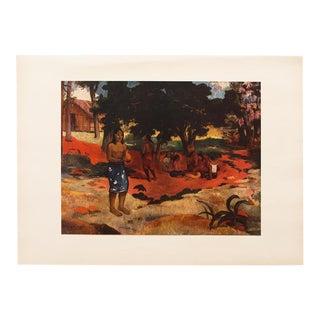 Vintage Mid Century Para-Parau Lithograph by Paul Gauguin For Sale