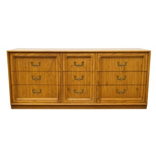 "Thomasville Furniture Artform Collection Contemporary 67"" Triple Dresser For Sale"