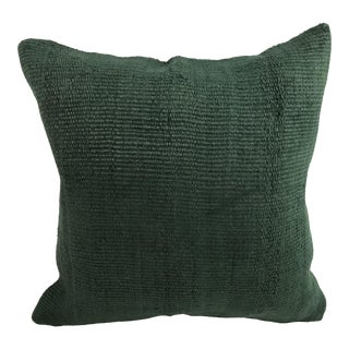 Handwoven Turkish Hemp Wool Pillow Cover For Sale