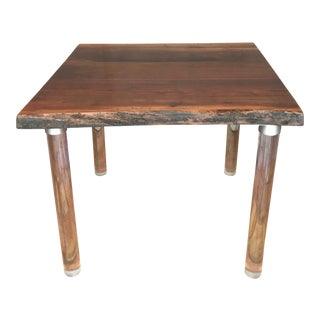 2013 Victor del Frate Live Edge Walnut Table