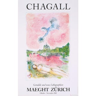Marc Chagall 'Pink Opera-Opera Rose' Poster For Sale