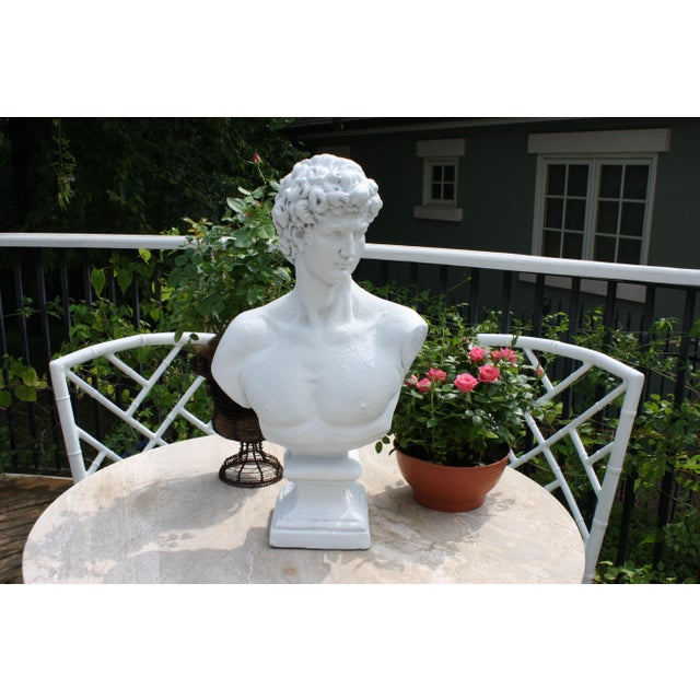 Large Scale Bust of David AGE: Unknown MATERIAL: Unknown/Composite CONDITION: Good condition. Please see photos and...