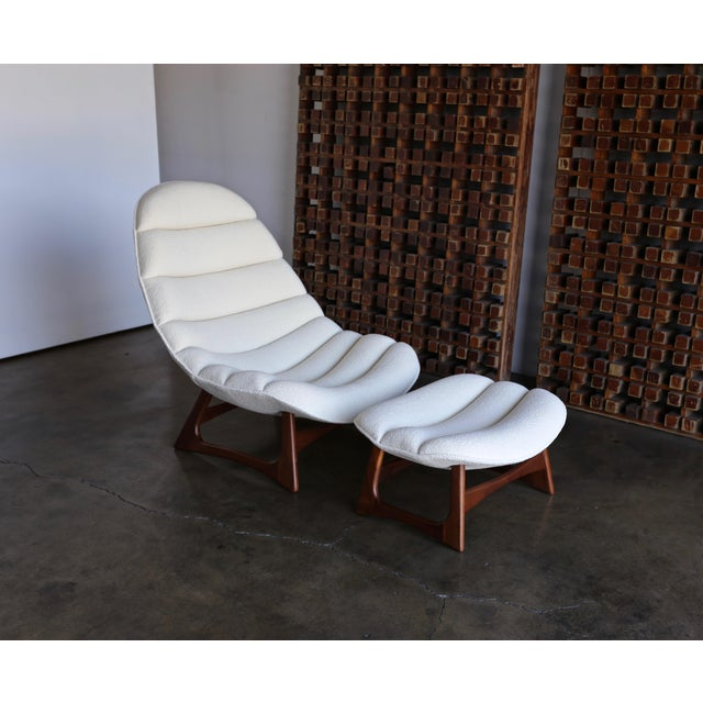 Adrian Pearsall Lounge Chair and Ottoman for Craft Associates Inc., Circa 1960 For Sale - Image 13 of 13