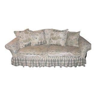 JM Paquet Floral Sofa