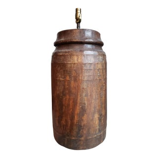 Large Waterjar Table Lamp For Sale
