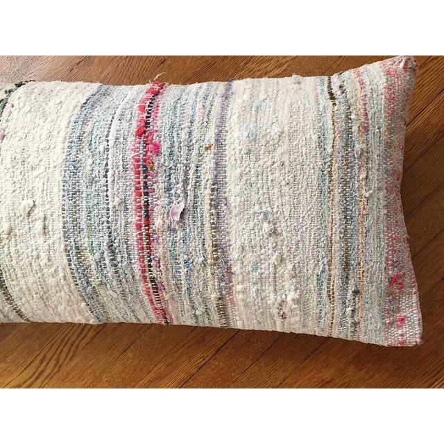 Moroccan Berber Striped Pillow Cover - Image 4 of 10