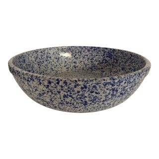 Blue & White Splatterware Bowl